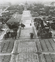old photo of national mall