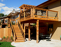 Building A Deck What Is The Best Decking Material Lot